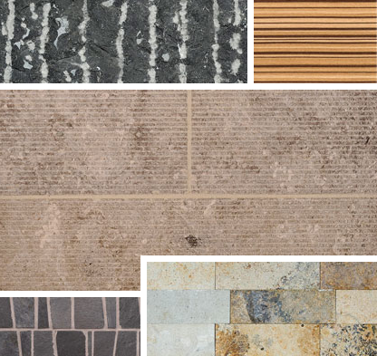 Blend aesthetic in stone from Charles Luck.