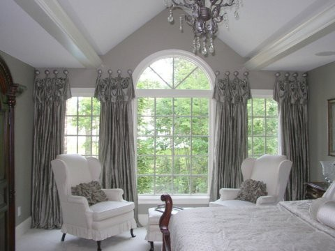 Glamourous window treatments
