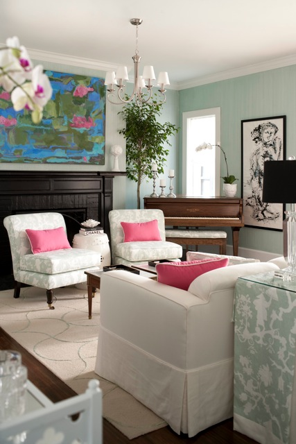 A Lovely Living Room by Beth Foley