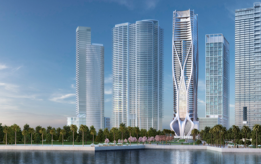 Rising Star—Zaha Hadid's new One Thousand Museum luxury condominium in Miami